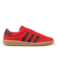 Adidas Originals Mens Red Bermuda Trainer
