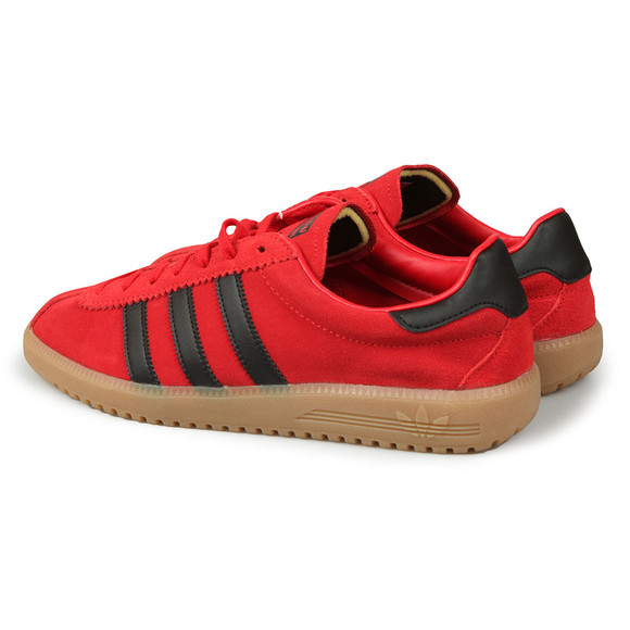 Adidas Originals Mens Red Bermuda Trainer main image