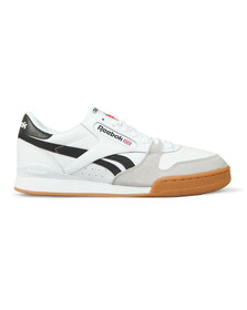 Reebok Classic Mens White Phase 1 Trainer
