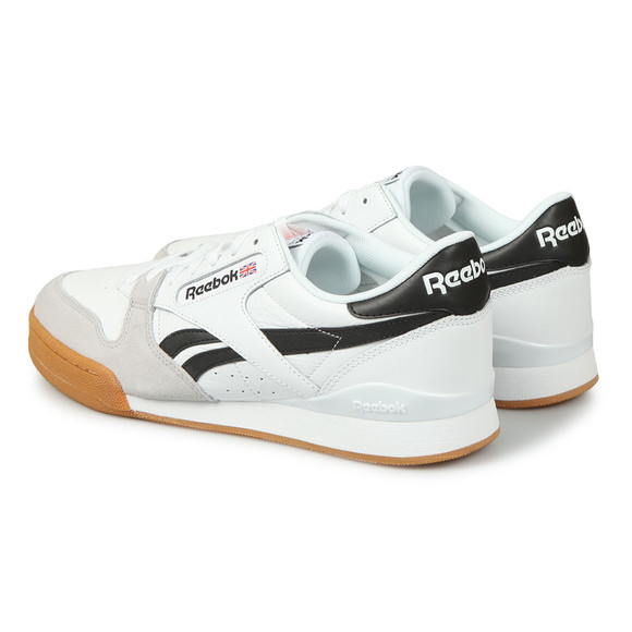 Reebok Classic Mens White Phase 1 Trainer main image