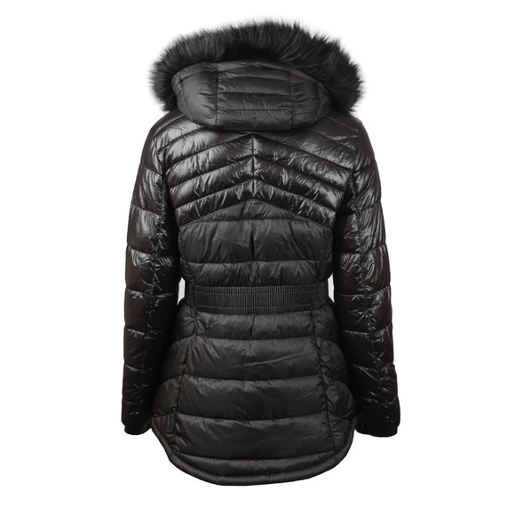 Barbour International Womens Black Superstock Quilted Jacket main image