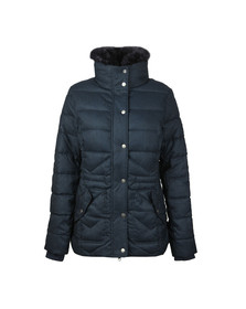 Barbour Lifestyle Womens Blue Langstone Quilted Jacket