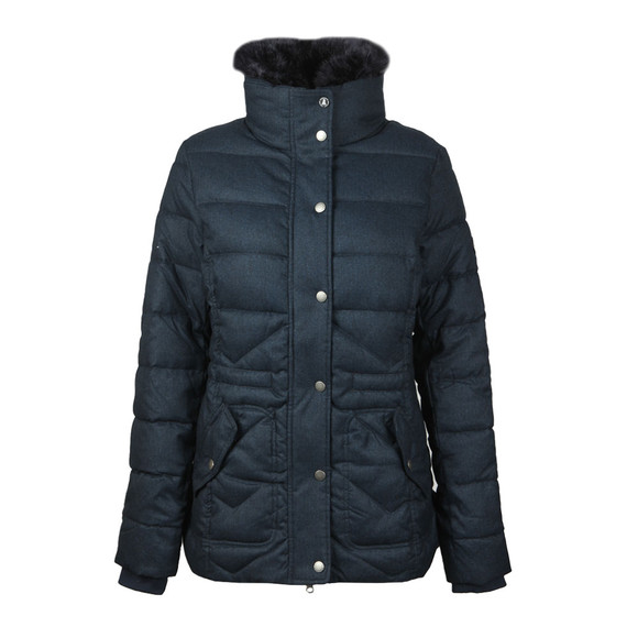 Barbour Lifestyle Womens Blue Langstone Quilted Jacket main image