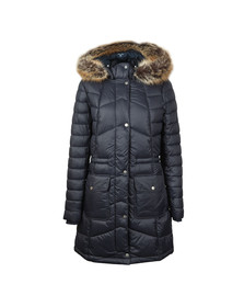 Barbour Lifestyle Womens Blue Hamble Quilted Jacket