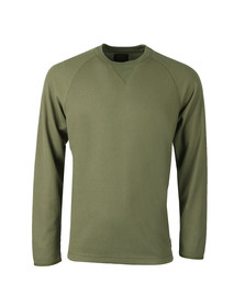 Carhartt Mens Green Long Sleeve Leeward T Shirt