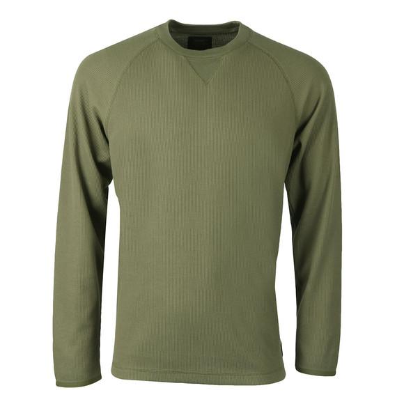 Carhartt Mens Green Long Sleeve Leeward T Shirt main image