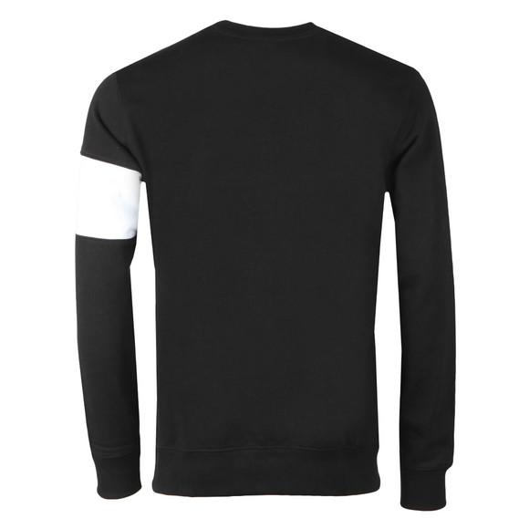 Calvin Klein Jeans Mens Black Stripe Institutional Crew Sweat main image