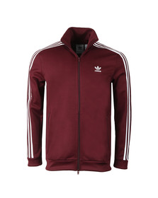 Adidas Originals Mens Red Beckenbauer Track Jacket