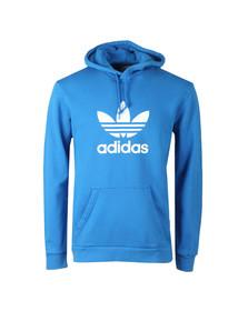 adidas Originals Mens Blue Trefoil Hoodie