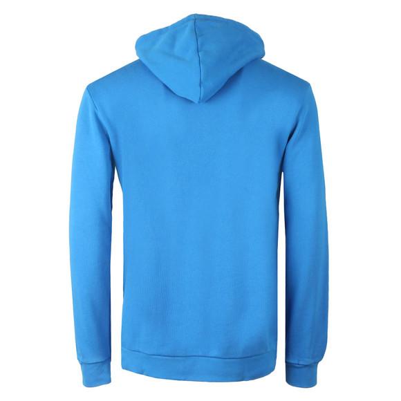adidas Originals Mens Blue Trefoil Hoodie main image