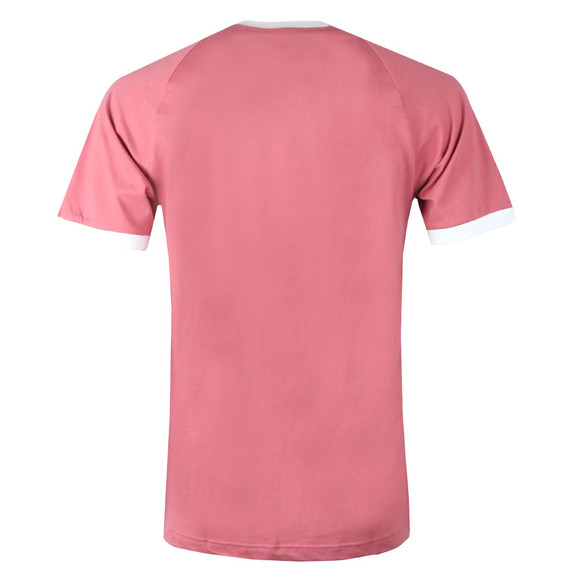adidas Originals Mens Pink 3 Stripes Tee main image