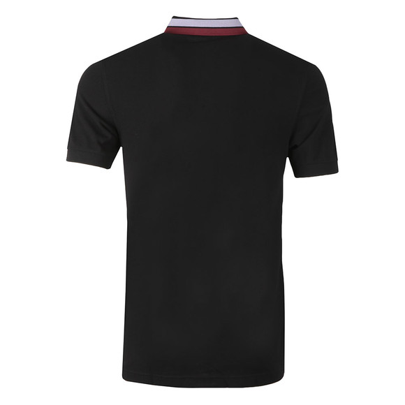 Fred Perry Mens Black S/S Bold Tipped Polo main image