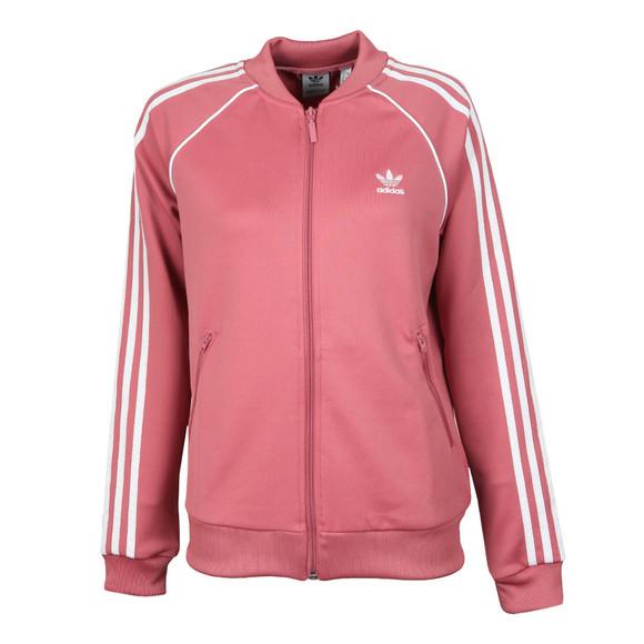 adidas Originals Womens Pink Superstar Track Top main image