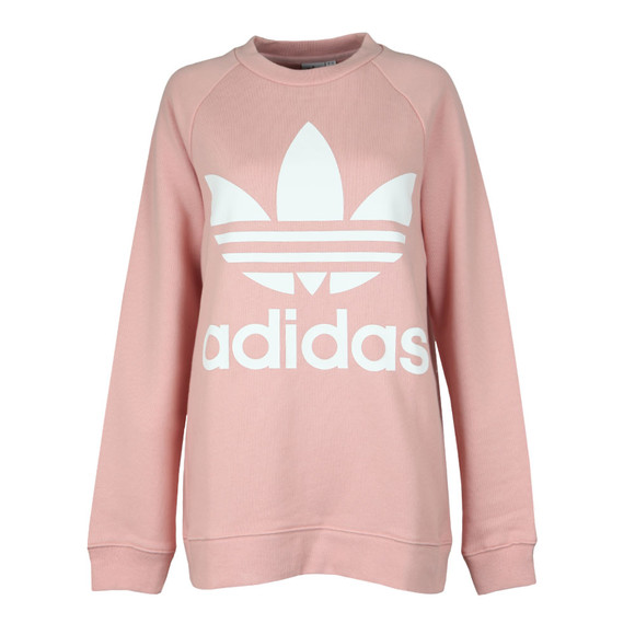 adidas Originals Womens Pink Oversized Sweat main image