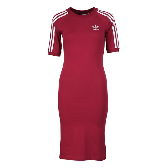 Adidas Originals Womens Red 3 Stripes Dress main image