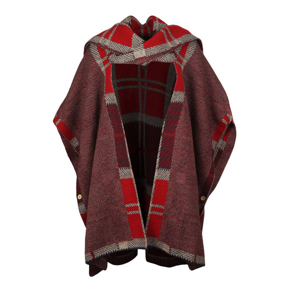 Barbour Lifestyle Womens Brown Dunnit Cape main image