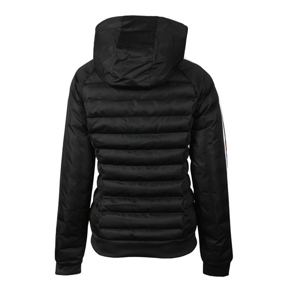 a9508fe1b27a adidas Originals Womens Black Slim Puffer Jacket main image
