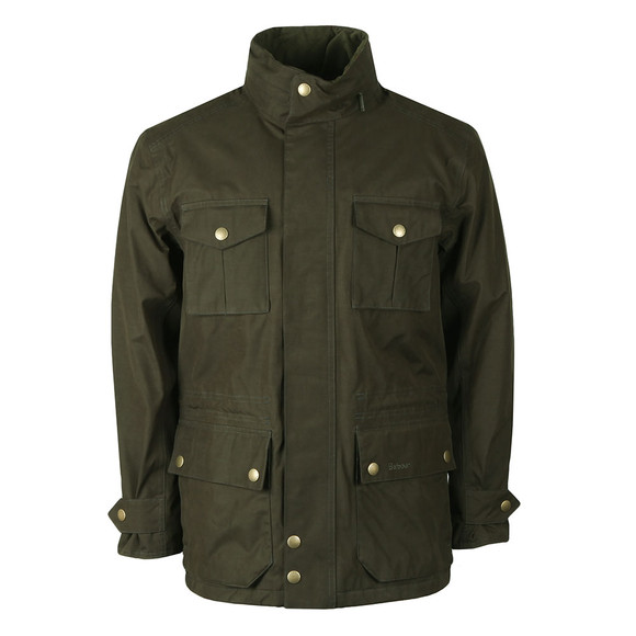 Barbour Lifestyle Mens Green Kelso Jacket main image