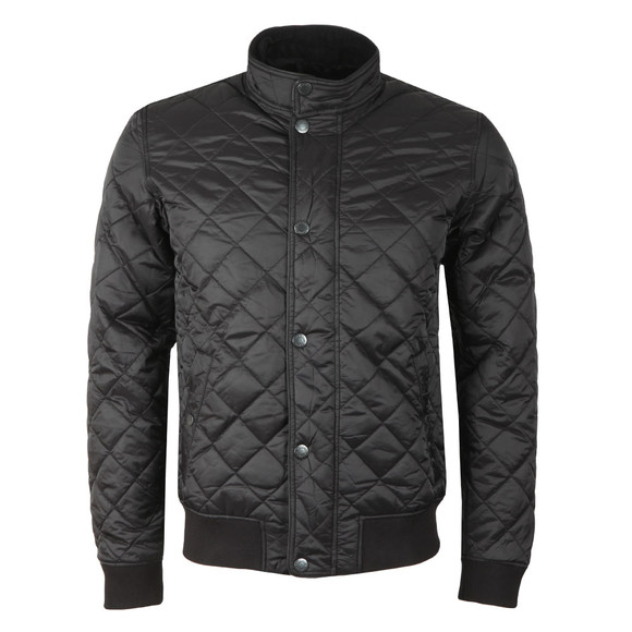 Barbour Lifestyle Mens Black Edderton Quilted Jacket main image