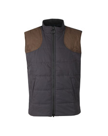 Barbour Lifestyle Mens Blue Ludlow Gilet