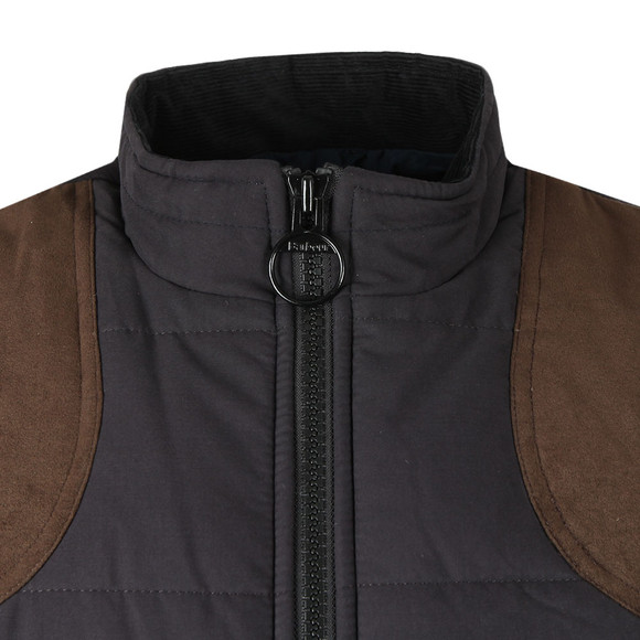 Barbour Lifestyle Mens Blue Ludlow Gilet main image