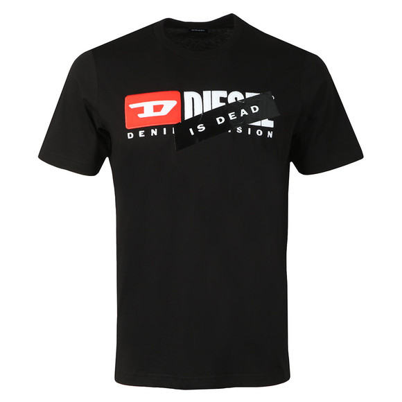 Diesel Unisex Black Hate Couture Just Division T Shirt main image