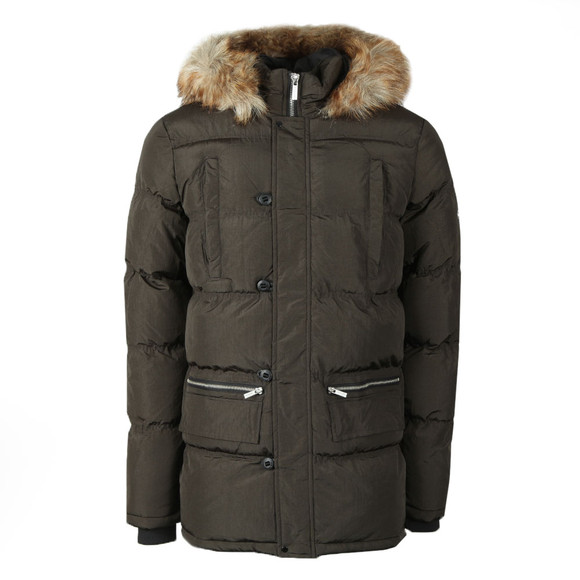 4BIDDEN Mens Green Ice Jacket main image