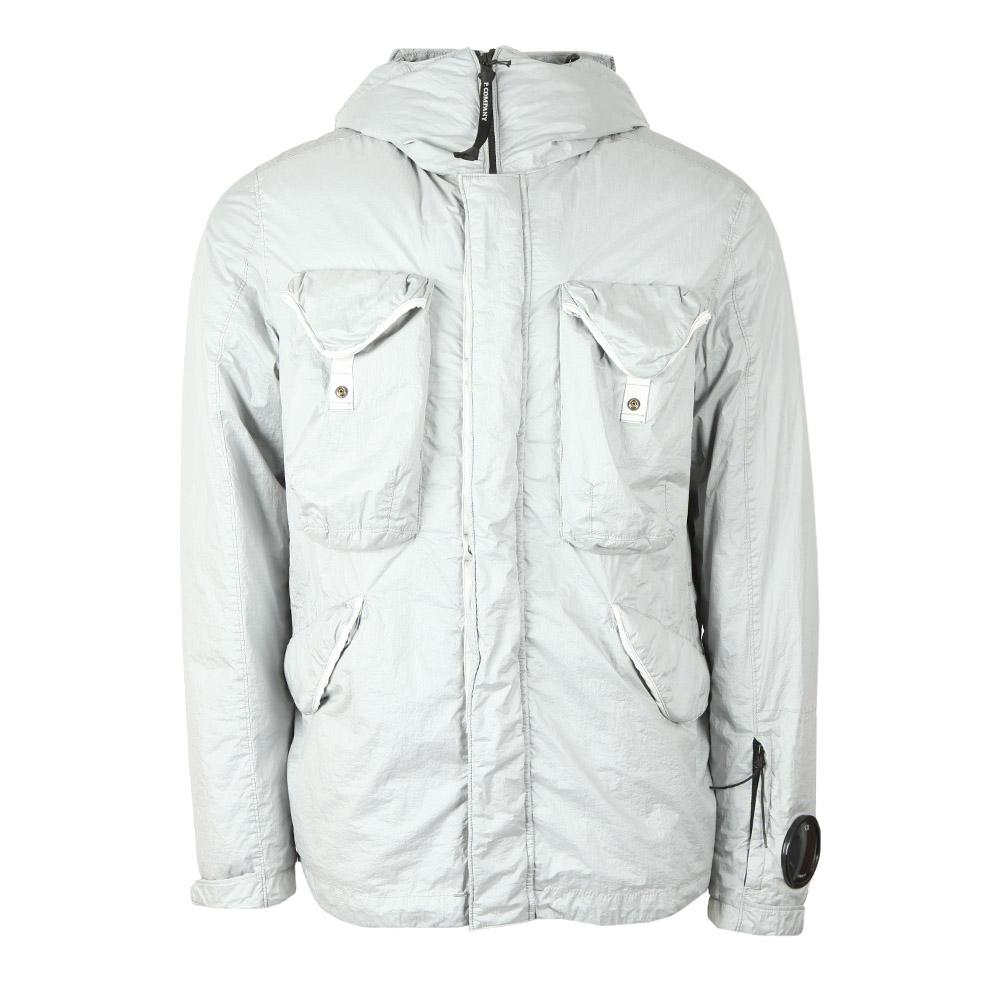 c6e4d704d Mens Off-White Nyfoil Mid Length Goggle Jacket