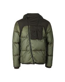 C.P. Company Mens Green 2 Tone Goggle Jacket