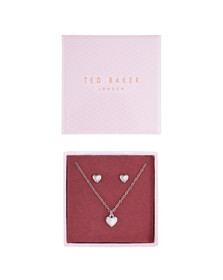 Ted Baker Womens Silver Amoria Sweetheart Gift Set