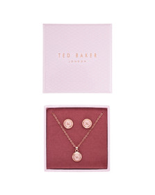 Ted Baker Womens Pink Emillia Mini Button Gift Set