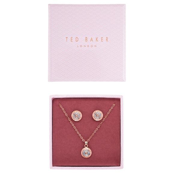 Ted Baker Womens Pink Emillia Mini Button Gift Set main image