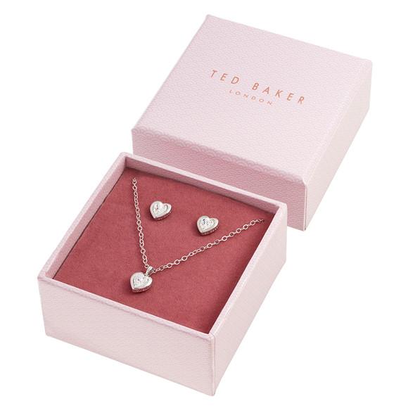 Ted Baker Womens Silver Hadeya Crystal Heart Gift Set main image