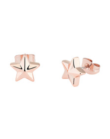 Ted Baker Womens Pink Shaylaa Shooting Star Stud Earring