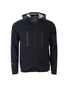 Weekend Offender Mens Blue Mclarnin Hoody