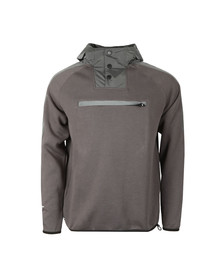 Weekend Offender Mens Grey Charles Hoody