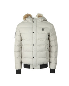 Eleven Degrees Mens Beige Missile Jacket