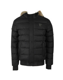 Eleven Degrees Mens Black Missile Jacket