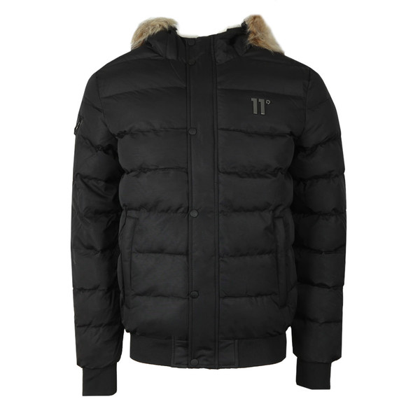 Eleven Degrees Mens Black Missile Jacket main image