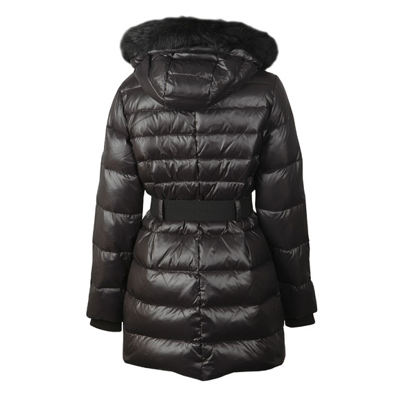 Ugg Womens Black Valerie Belted Down Coat main image