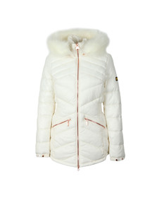 Barbour International Womens Beige Superstock Quilted Jacket