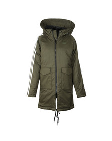 Adidas Originals Womens Green Down Parka