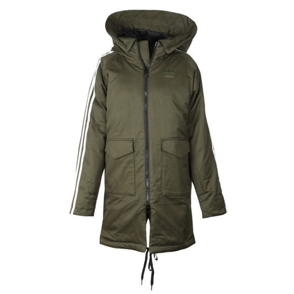 adidas Originals Womens Green Down Parka main image