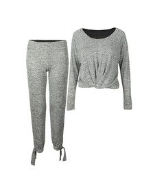 Ugg Womens Grey Fallon Pyjama Set