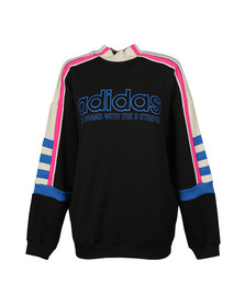 Adidas Originals Womens Black Tape Sweatshirt