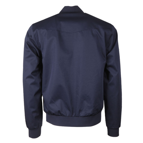 Luke 1977 Mens Blue Fluff Nut 3 Funnel Neck Jacket main image