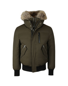 Mackage Mens Green Dixon-X Hooded Jacket