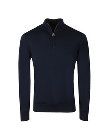 Barbour Lifestyle Mens Blue Gamlin 1/2 ZipJumper