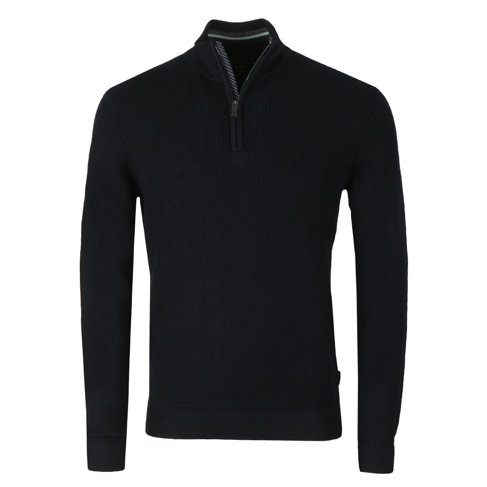 Lohas Half Zip Funnel Neck Jumper main image