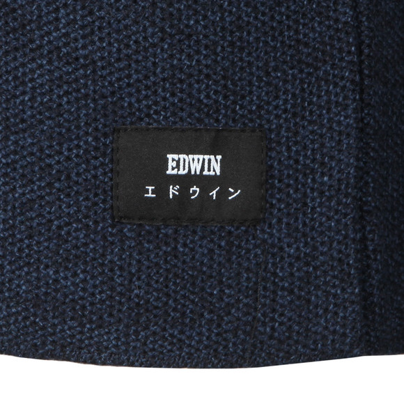 Edwin Mens Blue Terry Knit Jumper main image